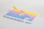 Органайзер для бисера и страз пластик 21 ячейка