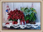 """Набор для вышивания """"Рождественский натюрморт"""""""