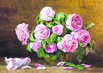 """Набор для вышивания """"Розовый аромат"""""""