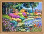"Алмазная мозаика ""Райский сад"""