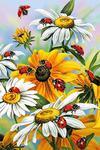 """Алмазная мозаика """"Солнечные цветы"""""""