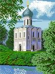 "Алмазная мозаика ""Храм Покрова"""