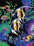 """Алмазная мозаика """"Цветные рыбки"""""""