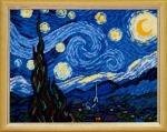 """Набор для вышивания """"Звездная ночь"""" по картине Ван Гога"""