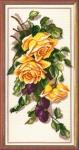 """Набор для вышивания """"Розы и сливки"""""""