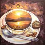 """Алмазная мозаика """"Кофейное путешествие"""""""
