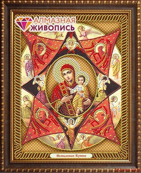 """Алмазная мозаика """"Икона Неопалимая Купина"""""""