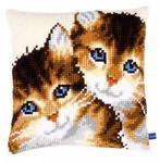 """Набор для вышивания Подушка """"Котята"""""""