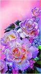 """Набор для вышивания """"Пурпурные розы"""""""
