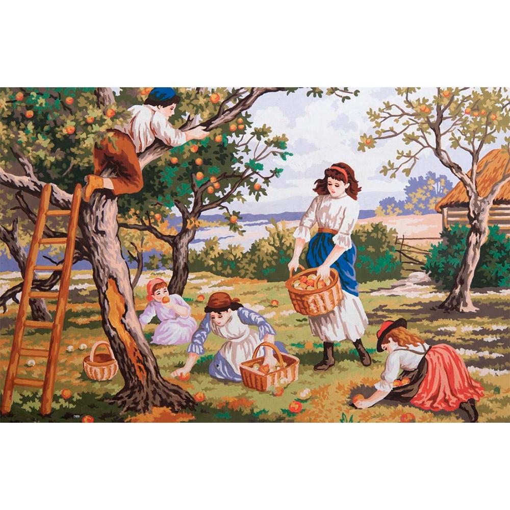 "Канва с рисунком ""Фруктовый сад"""