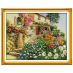 """Набор для вышивания """"Вилла в саду"""""""