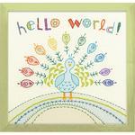 """Набор для вышивания """"Привет мир"""""""
