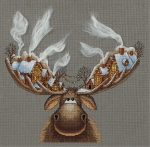 """Набор для вышивания """"Рождественский лось"""""""