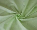 Ткань хлопок Полоска, 125г/м², 100% хлопок, цв. 01 салатовый упаковка 150х300 см