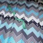 Ткань хлопок Морская-7057, 120 г/м², 100% хлопок, цв. 03 голубой упаковка 3 м. при ширине 150 см