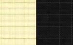 "Канва Аида14 КО4R ""Gamma"" черная разлинованная размер 100х150 см"