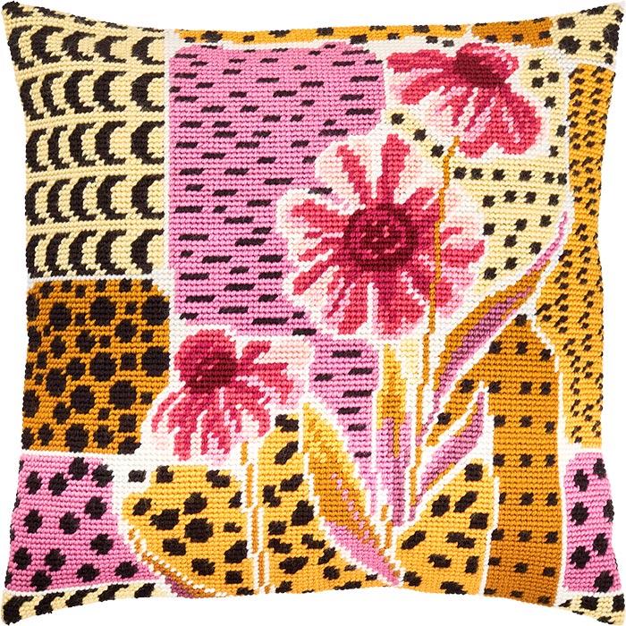 """Набор для вышивания Подушка """"Эфиопия"""""""