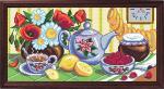 "Канва с рисунком ""Чай на кухне"""