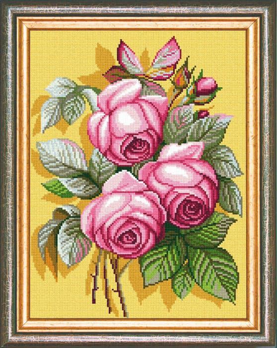 "Канва с рисунком ""Розы"""