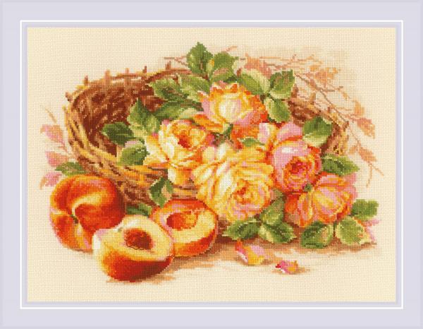 """Набор для вышивания """"Сочный персик"""""""