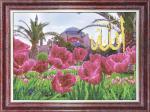 """Набор для вышивания """"Тюльпаны у мечети Айя-Софии"""""""