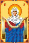 """Ткань с рисунком Икона """"Покров Пр.Богородицы"""""""