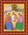 """Ткань с рисунком Икона """"Святая Троица"""""""