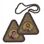 """Набор для вышивания Икона """"Христос Спаситель и Богородица Казанская"""""""