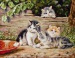 """Набор для вышивания """"Кошки"""""""
