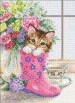 """Набор для вышивания """"Симпатичный котёнок"""""""