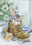 """Набор для вышивания """"Милый котёнок"""""""