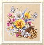 """Набор для вышивания """"Луговые цветы"""""""