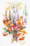 """Набор для вышивания """"Дух осеннего леса"""""""