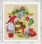 """Набор для вышивания """"В ожидании рождества"""""""