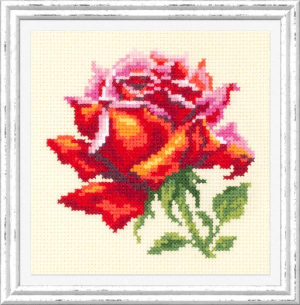 "Набор для вышивания ""Красная роза"""