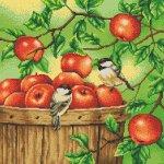 """Канва с рисунком """"Яблоки"""""""