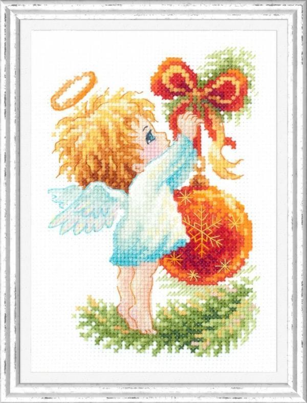 """Набор для вышивания """"Ангел рождества"""""""