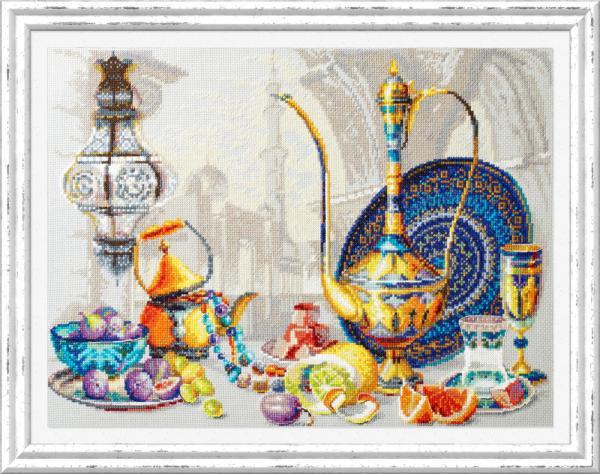 """Набор для вышивания """"Яркие краски Марокко"""""""