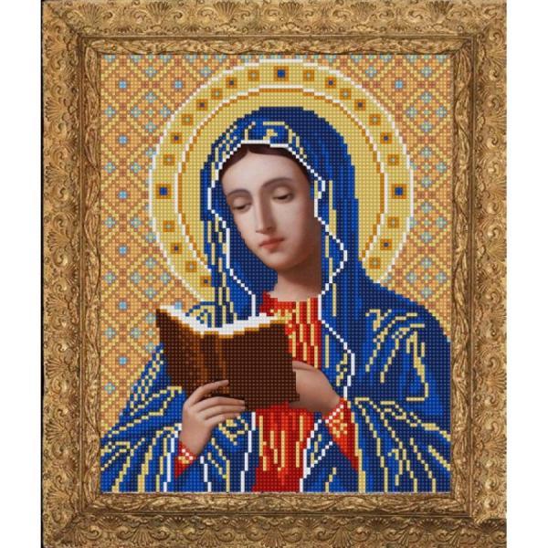 """Ткань с рисунком Икона """"Богородица Калужская"""""""