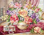 """Набор для вышивания """"Розы в гостиной"""""""