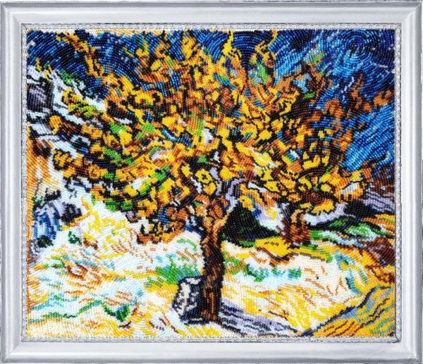 """Набор для вышивания """"Тутовое дерево. По мотивам В. Ван Гога"""""""