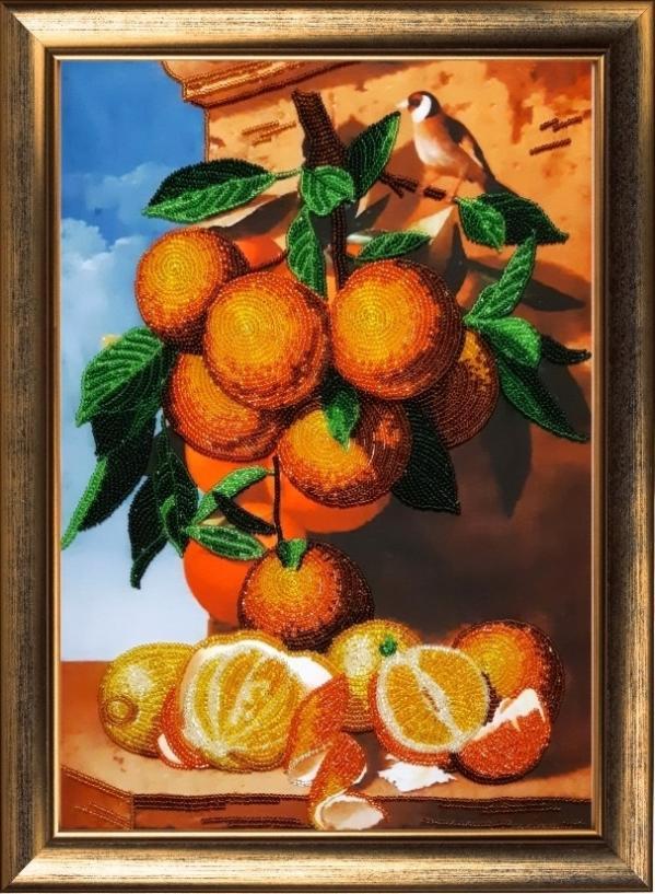 """Набор для вышивания """"Апельсиновая ветка"""""""