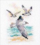 """Набор для вышивания """"Ветер с моря. Чайки"""""""