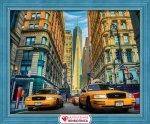 """Алмазная мозаика """"Такси Нью-Йорка"""""""