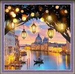 """Алмазная мозаика """"Вечерняя Венеция"""""""