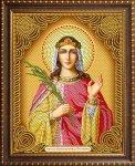 """Алмазная мозаика """"Икона Святая Великомученица Екатерина"""""""