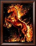 """Алмазная мозаика """"Огненный конь"""""""