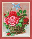 "Алмазная мозаика ""Корзинка роз"""