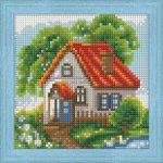 """Алмазная мозаика """"Летний домик"""""""
