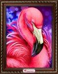 "Алмазная мозаика ""Яркий фламинго"""